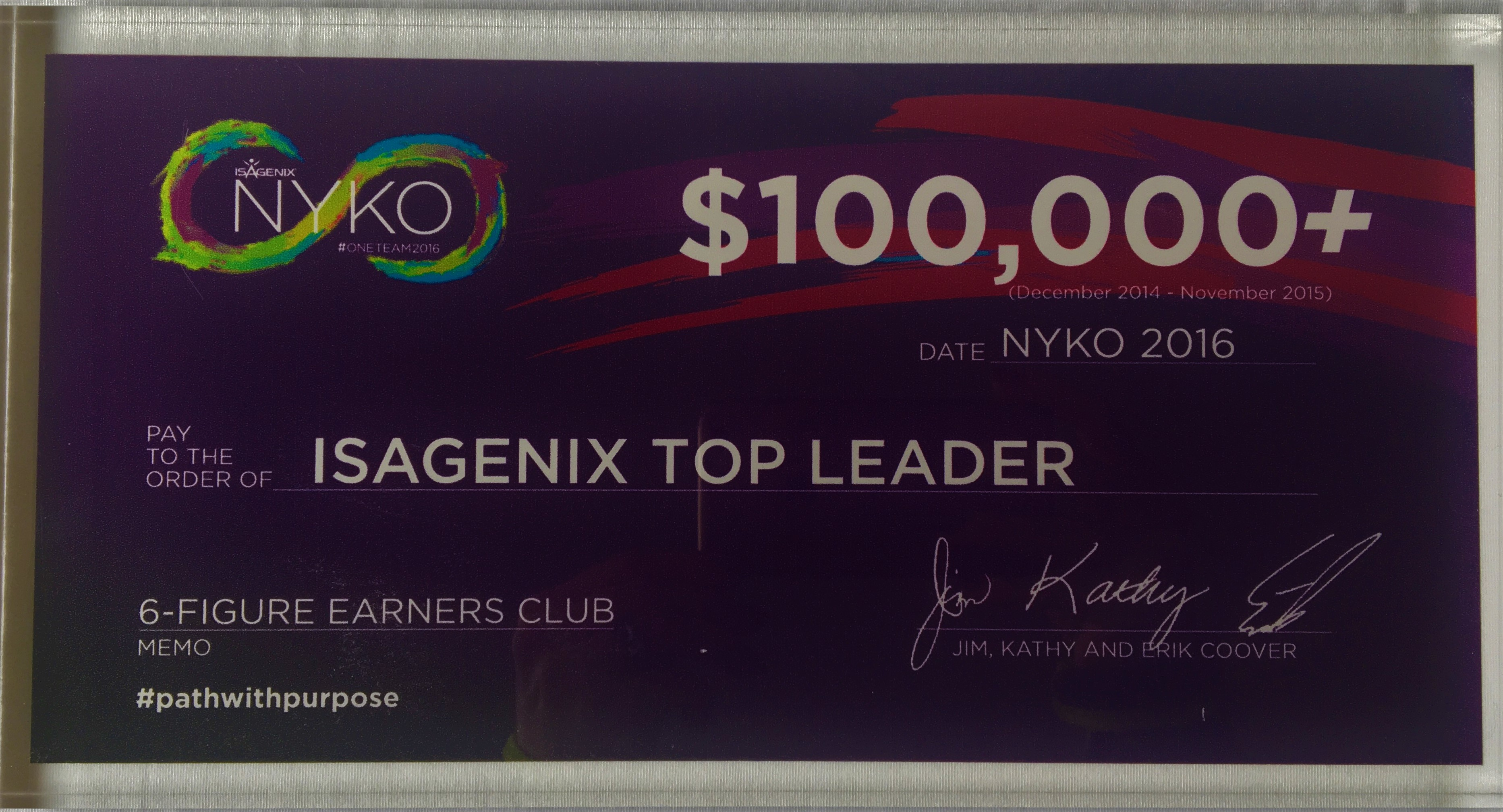 Isagenix Top Leader